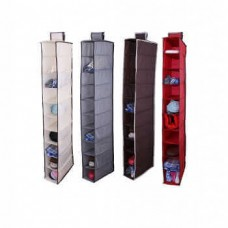 Подвесной кофр на 10 полок для хранения обуви и мелочей Porta Sapatos
