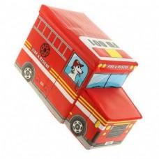 Короб для хранения игрушек Автобус, 2 отделения, 55x25x25 см