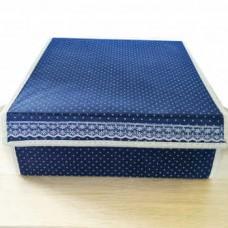 Складной короб для хранения вещей с 16-ю ячейками, 31x31x12.5 см