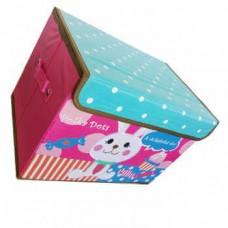 Складной детский короб для хранения игрушек, 37x26x26 см