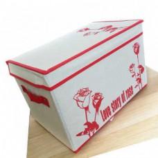 Короб для хранения вещей Love Story Of Rose, 38x26x26 см