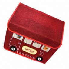Складной короб для хранения игрушек Домик, 42x32x34 см