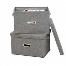 Складной короб для хранения вещей 32x31x26 см